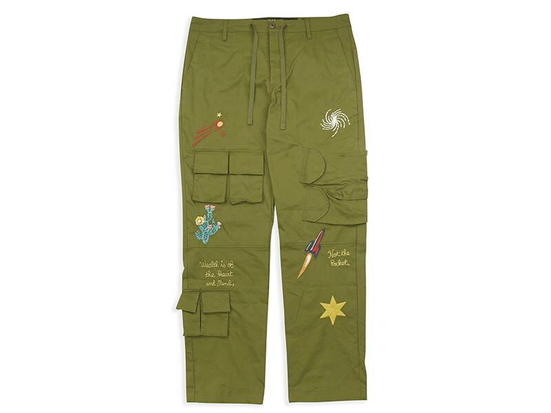 メンズファッション, ズボン・パンツ BILLIONAIRE BOYS CLUB BB STELLAR PANT (811-1103:AVOCADO)