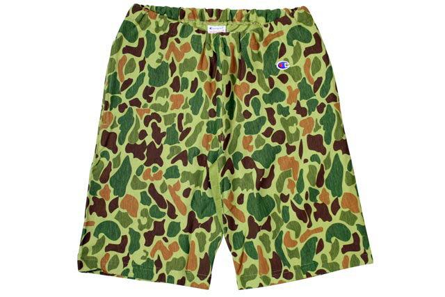 CHAMPION Reverse Weave Camouflage Swet Shorts (Duck Camo)チャンピオン/スウェットショーツ/迷彩