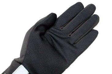 POLO RALPH LAUREN TOUCH GLOVES (6G0081/625)ポロラルフローレン/手袋/グローブ/黒×赤