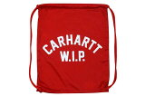CarharttWIPUSSSCRIPTBAG(ROSEHIP/WHITE)
