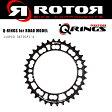 ROTOR ローター 110PCD 34T INNER Q-RINGS オーバルチェーンリング インナー ロードバイク 自転車