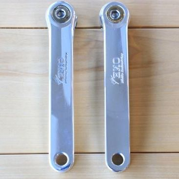 ENO CRANK SET クランクセット シルバー White industries ホワイトインダストリーズ MTB 自転車 サイクリング 送料無料