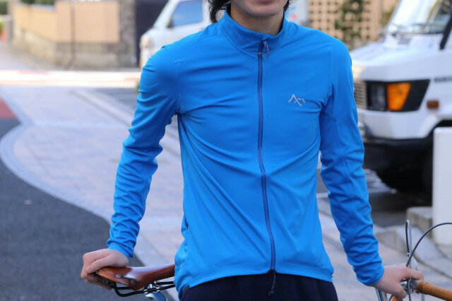 Corse Softshell Jersey (カラー:ブルー/ブラック) サイクルジャージ 7mesh セブンメッシュ 長袖 防風