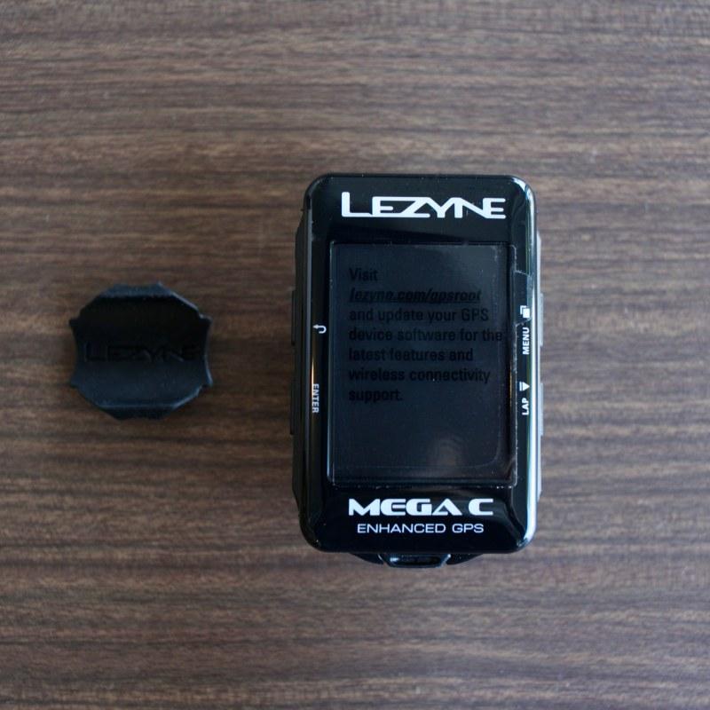 ◆LEZYNE GPS MEGA C GPSサイクルコンピューター カラー液晶 レザイン サイコン