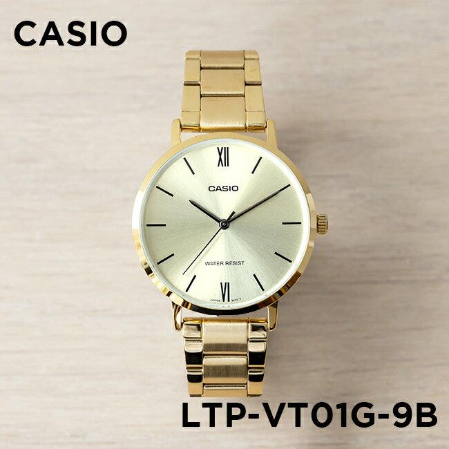 腕時計, レディース腕時計 10CASIO LTP-VT01G-9B