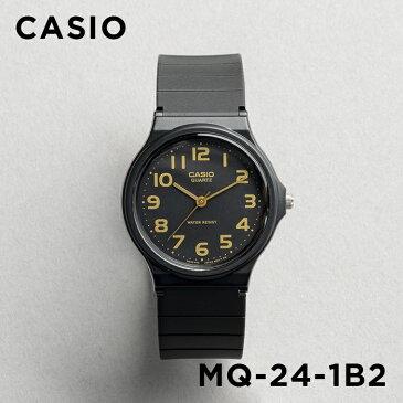 【10年保証】CASIO STANDARD ANALOGUE MENS カシオ スタンダード アナログ メンズ MQ-24-1B2 腕時計 レディース キッズ 子供用 男の子 女の子 チープカシオ チプカシ プチプラ ブラック 黒 海外モデル