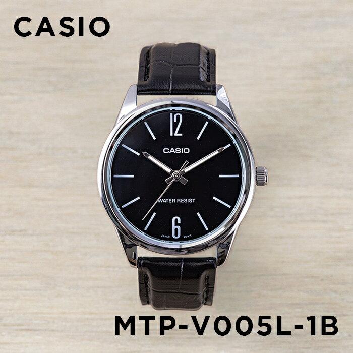 腕時計, メンズ腕時計 10CASIO MTP-V005L-1B