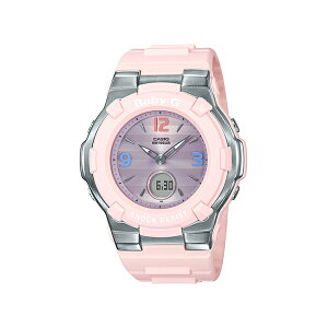 CASIO BABY-G カシオ ベビーG BGA-1100TR-4BJF 腕時計 レディース キッズ 子供 女の子 アナデジ 電波 ソーラー ソーラー電波時計 防水 ピンク パープル 紫