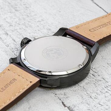 【10年保証】CITIZEN ECO-DRIVE CHANDLER シチズン エコドライブ チャンドラー BM8478-01L 腕時計 メンズ 逆輸入 アナログ ソーラー ブラック 黒 ネイビー レザー 革ベルト 海外モデル