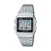 CASIO STANDARD DIGITAL カシオ スタンダード デジタル A500WA-1 腕時計 時計 メンズ レディース チープカシオ チプカシ プチプラ シルバー ブラック 黒 日本未発売