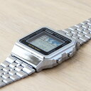 CASIO STANDARD DIGITAL カシオ スタンダード デジタル A500WA-1 腕時計 メンズ レディース チープカシオ チプカシ プチプラ シルバー ブラック 黒 日本未発売