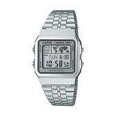 CASIO STANDARD DIGITAL カシオ スタンダード デジタル A500WA-7 腕時計 時計 メンズ レディース チープカシオ チプカシ プチプラ シルバー グレー 日本未発売