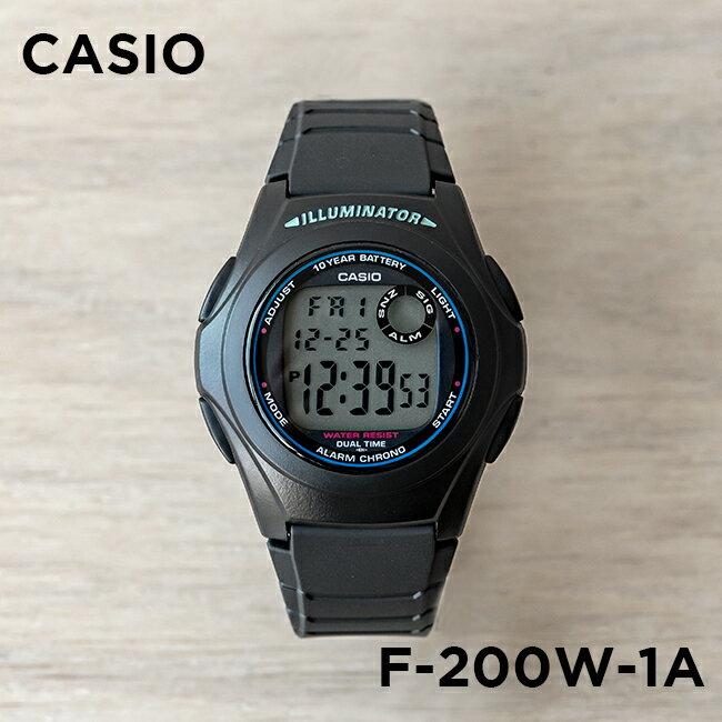 腕時計, 男女兼用腕時計 10CASIO F-200W-1A