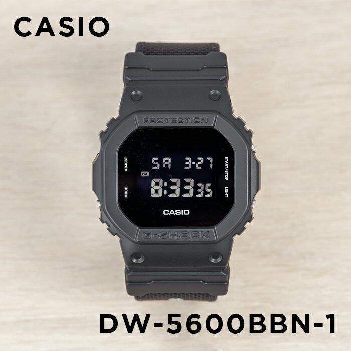 腕時計, メンズ腕時計 10CASIO G-SHOCK G DW-5600BBN-1