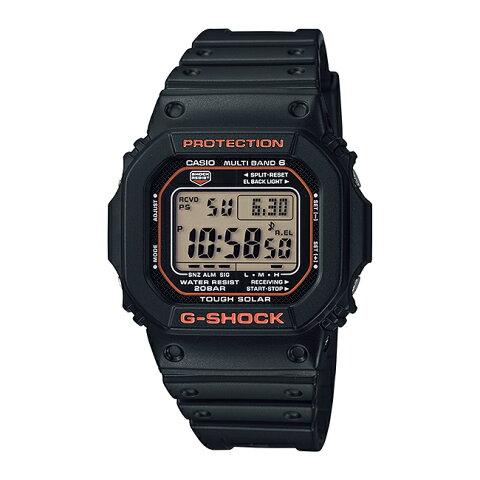 CASIO G-SHOCK カシオ Gショック GW-M5610R-1JF 腕時計 メンズ キッズ 子供 男の子 ジーショック デジタル 電波 ソーラー ソーラー電波時計 防水 ブラック 黒 オレンジ