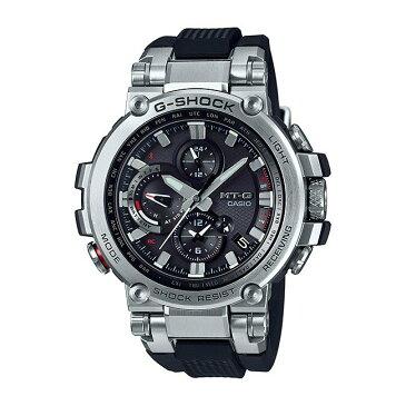 【10年保証】CASIO G-SHOCK カシオ Gショック MT-G MTG-B1000-1A 腕時計 メンズ キッズ 子供 男の子 アナデジ 電波 ソーラー ソーラー電波時計 ブルートゥース 防水 ブラック 黒 シルバー