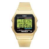TIMEX CLASSIC DIGITAL タイメックス クラシック デジタル T78677 送料無料 腕時計 時計 メンズ レディース ゴールド 金 ブラック 黒