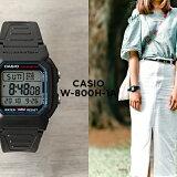 CASIO STANDARD DIGITAL カシオ スタンダード デジタル W-800H-1A 腕時計 時計 メンズ レディース チープカシオ チプカシ プチプラ 防水 ブラック 黒 日本未発売