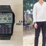 【10年保証】CASIO カシオ データバンク DBC-32-1A 腕時計 メンズ レディース キッズ 子供 男の子 女の子 デジタル ブラック 黒 海外モデル
