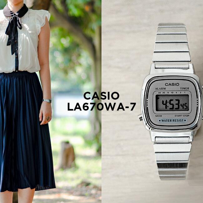 腕時計, レディース腕時計 10CASIO LA670WA-7