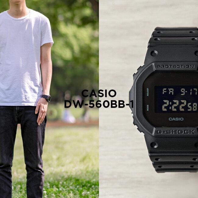 腕時計, メンズ腕時計 10CASIO G-SHOCK G DW-5600BB-1
