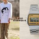 【10年保証】【日本未発売】CASIO カシオ スタンダード A158WEA-9 腕時計 時計 ブランド メンズ レディース キッズ 子供 男の子 女の子 チープカシオ チプカシ デジタル 日付 カレンダー シルバー ベージュ 海外モデル ギフト プレゼント・・・