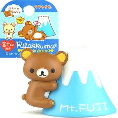 〜静岡いちごでだららん〜ご当地リラックマ 富士山限定富士山3(つや消)2014根付け