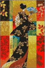 クロスステッチ刺繍キットDMC糸着物美人クロスステッチキットクロスステッチししゅう糸刺繍糸刺繍針刺繍キット