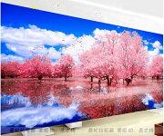 ストーン画桜花仙境