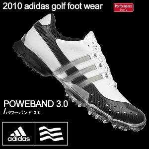 adidas/アディダス パワーバンド3.0 816274 ホワイト/ブラック/シルバー POWERBAND 3.0 ゴルフ...