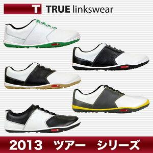 【日本仕様】2013年モデルTRUE linkswear/トゥルーリンクスウェア TOUR/ツアー ゴルフシューズ...