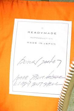 レディメイド/READYMADE 【18SS】【down jacket】オマージュミリタリーダウンジャケット(1/カーキ×オレンジ)【SJ02】【メンズ】【519081】【中古】【P】bb81#rinkan*A
