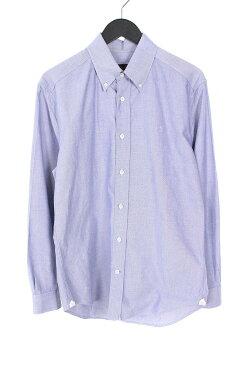 ルイヴィトン/LOUISVUITTON 【14SS】LVロゴ刺繍BDシャツ(S/ブルー)【SB01】【メンズ】【319081】【中古】【P】bb147#rinkan*B