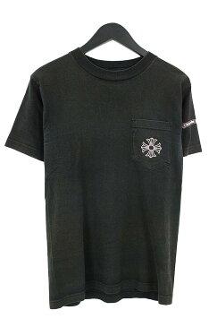 クロムハーツ/Chrome Hearts フレームドクロスプリントTシャツ(S/ブラック×ピンク)【BS99】【メンズ】【510181】【中古】[5倍][5倍]bb17#rinkan*C