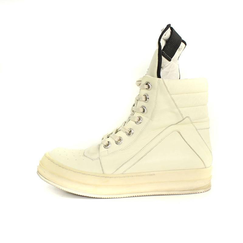 メンズ靴, スニーカー Chrome Hearts Rick Owens GEOBASKETCH(41)SS07109091bb2 7rinkanB