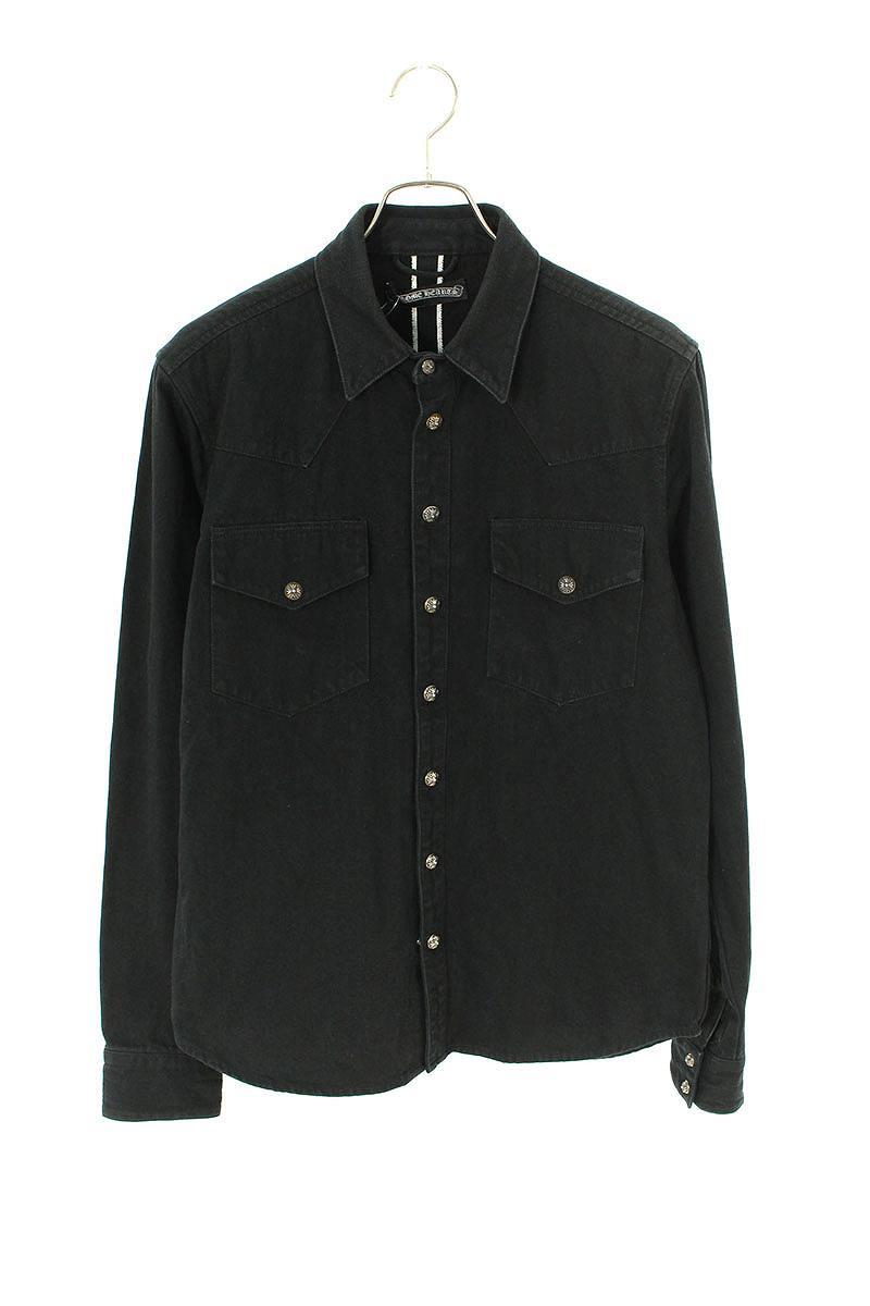 トップス, カジュアルシャツ Chrome Hearts DENIM WESTERN(M)OS06019091bb169rin kanB
