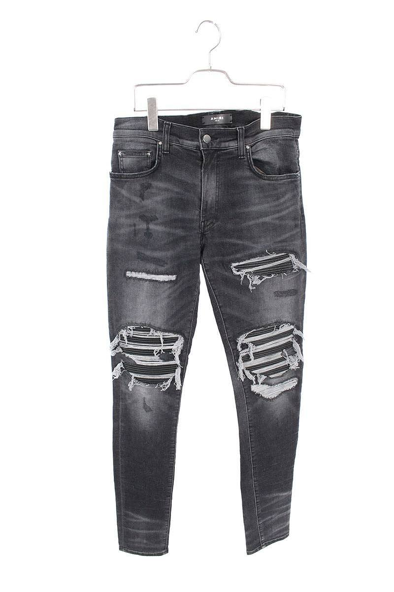 メンズファッション, ズボン・パンツ AMIRI MX1 Leather Patch(31)SB01204002bb162rink anB