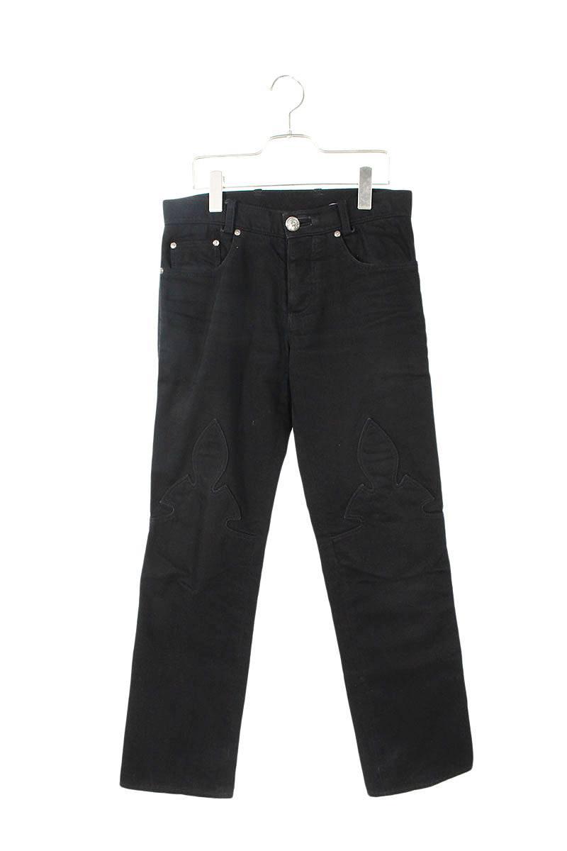 メンズファッション, ズボン・パンツ Chrome Hearts DNM PANTS BLK(28)SS07701002bb132rinkan B
