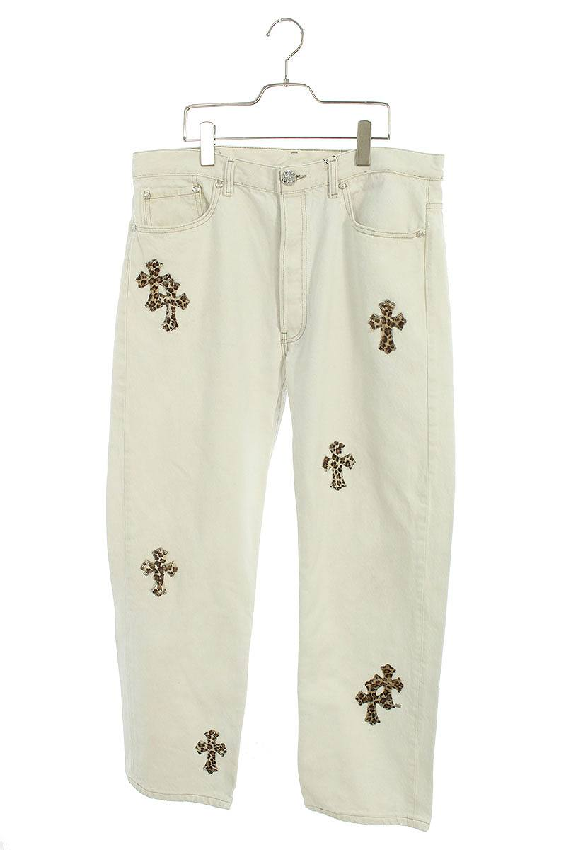 メンズファッション, ズボン・パンツ Chrome Hearts :34 U VNTG JEAN WHRED TAB()SJ02601012bb32rinkanA
