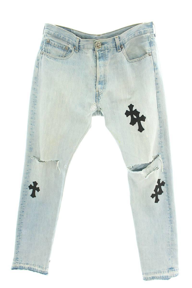メンズファッション, ズボン・パンツ Chrome Hearts :34 ()SJ02037012bb302rinkanB