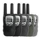 ミニ型 2台セット 多機能 トランシーバー 通話可能距離5km 液晶表示雑音消去機能 BAOFENG 寶鋒ラジオ POFUNG Wireless Intercom 無線機 Walkie-Talkie T3