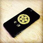 iPhone6ケース家紋入りスマホケース