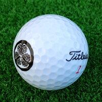家紋入りゴルフボール!3個セット!ゴルフボールに家紋プリントします!【ゴルフボール/写真/名入れ/プリント/オーダーメイド/プレゼント/家紋】