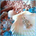 Hawaiian Jewelry Pendant Top 【R】 Hawaii-11/ハワイアンジュエリー イニシャルペンダントトップ『R』 Hawaii-11