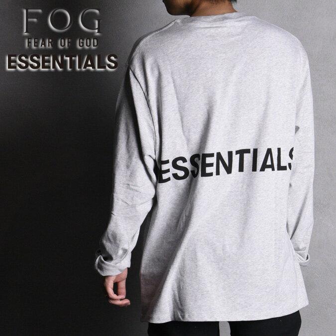 トップス, Tシャツ・カットソー BOXY LOGO LS TFOG ESSENTIALS T T Fear of God Pacsun FOG ESSENTIAL XS-XL
