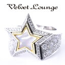 Velvet Lounge ヴェルヴェットラウンジ Stardust Star Ring メンズ レディース リング スターダスト シルバー キュービックジルコニア 17-21号