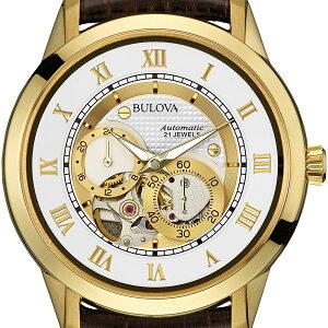 ブローバショッピングローン無金利対象品ブローバ[BULOVA]AUTOMATIC97A121【腕時計時計】