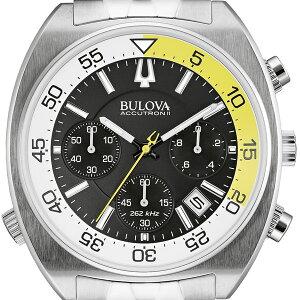ブローバショッピングローン無金利対象品ブローバアキュトロン2SNORKEL[スノーケル]96B237ステンレススチール【腕時計時計】
