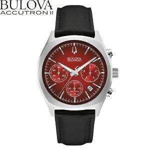 ブローバショッピングローン無金利対象品ブローバアキュトロン2[BULOVAACCUTRONII]SURVEYOR[サーベイヤー]96B238カーフレザー【腕時計時計】