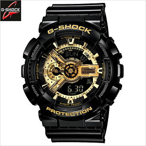 カシオ[CASIO]/ジーショック[G-SHOCK]/ブラック×ゴールドシリーズ[Black×GoldSeries]/GA-110GB-1AJF/メンズ